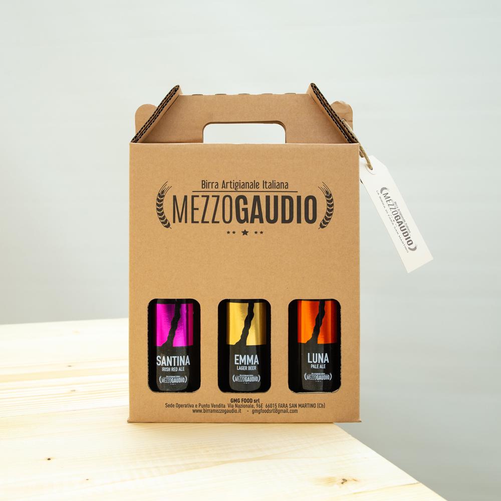 Confezione regalo con 3 bottiglie assortite